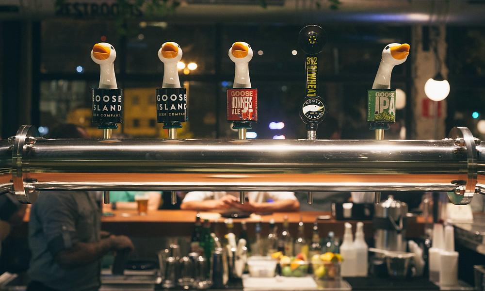 Melhores Bares Novos Goose Island Ipa Honker Ale Wheat Ambev Largo da Batata Cerveja Chope Artesanal