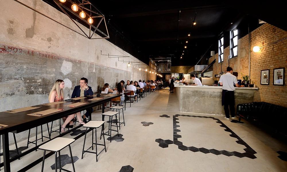 Melhores Restaurantes São Paulo novos Hospedaria Felipe Zanuto Mooca Salão