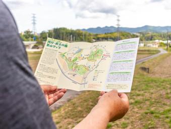 神付・産土の森様:マップ&パンフレット