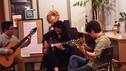 BGMにギター演奏のある夕べ