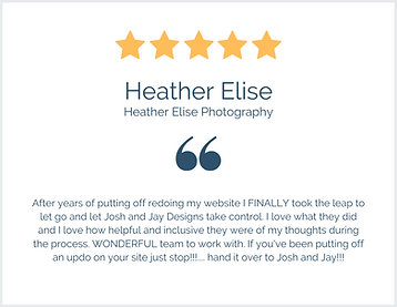 Heather Elise Review