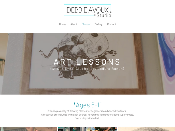 Debbie Avoux Classes
