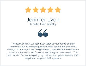 Jennifer Lyon Review