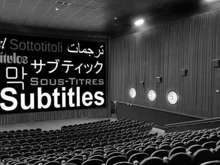A Brief History of Subtitling
