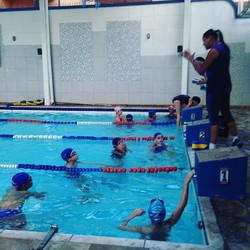 Turma de treinamento do Planeta Água !!!! Futuros atletas Olímpicos !!