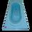 Thumbnail: Curved Head Bathtub