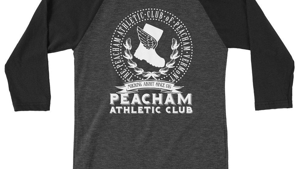 Peacham Athletic Club 3/4 sleeve raglan shirt