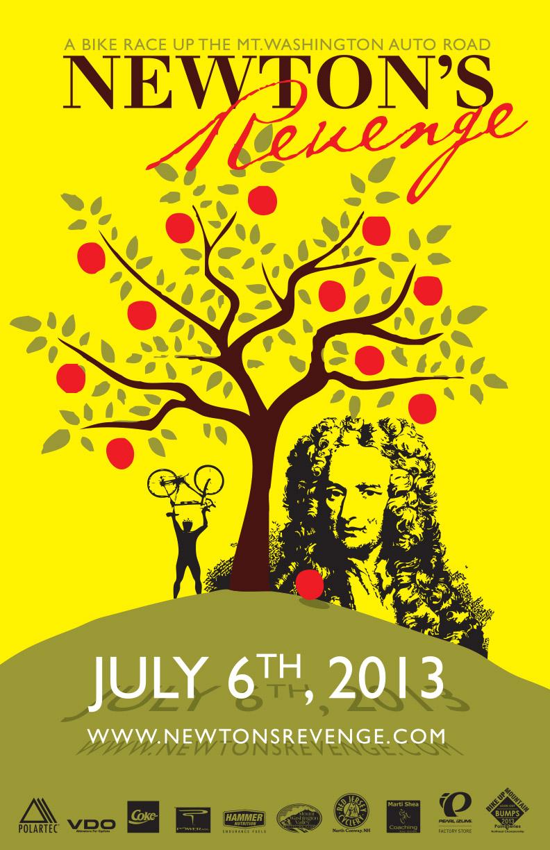 Newtons Revenge poster 2013