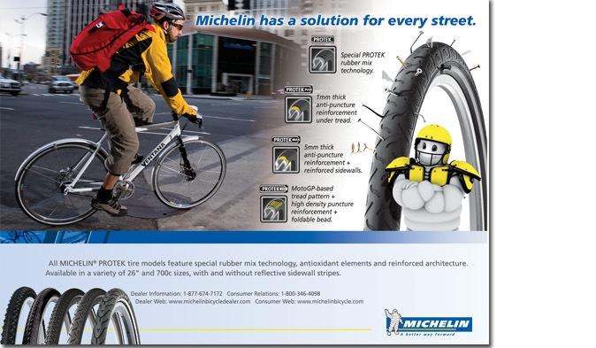 Michelin city tire ad