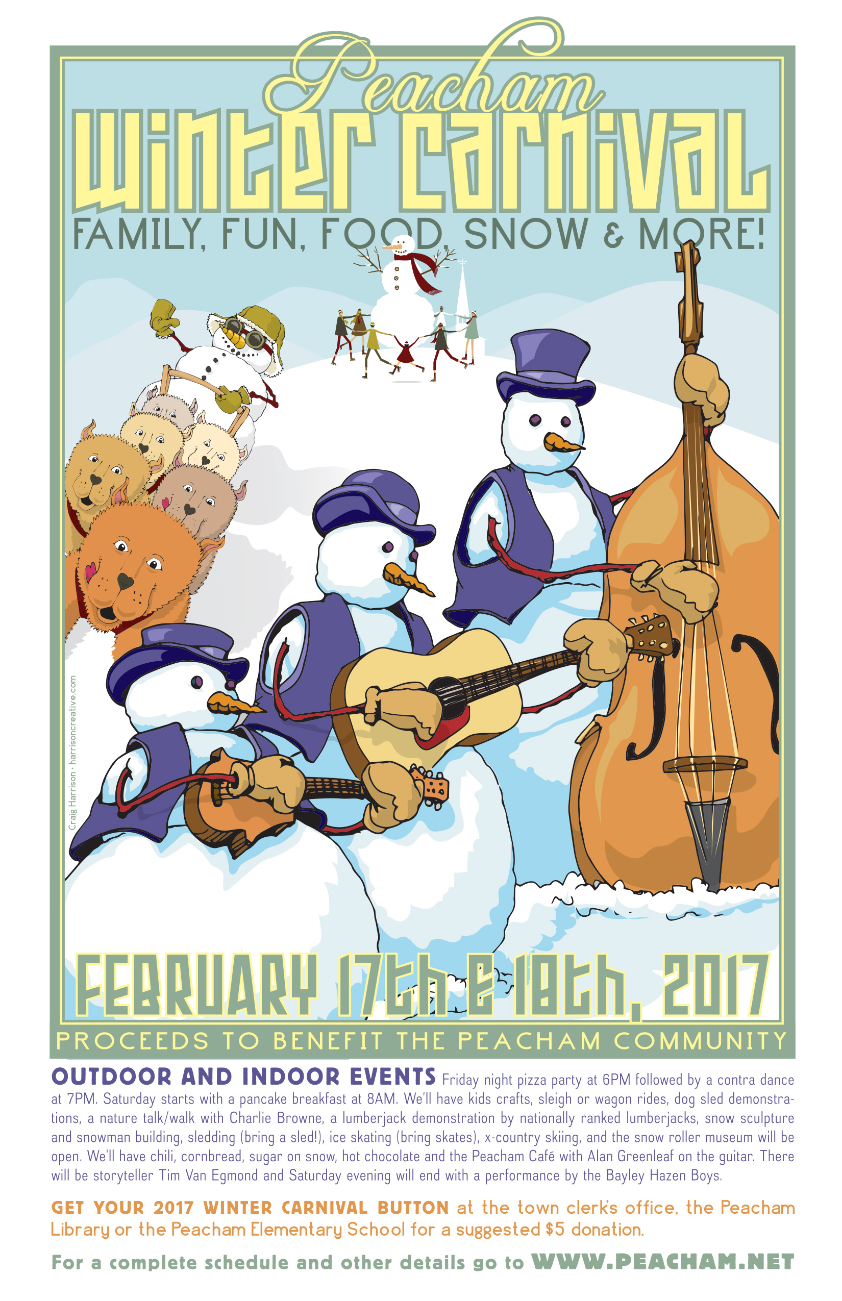 Peacham WInter Carnival 2017