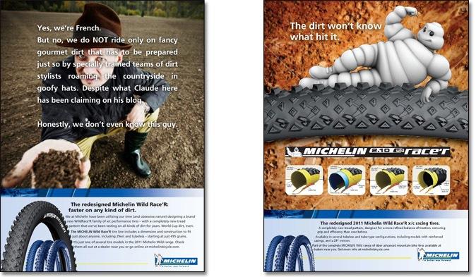 Michelin ads - 90's