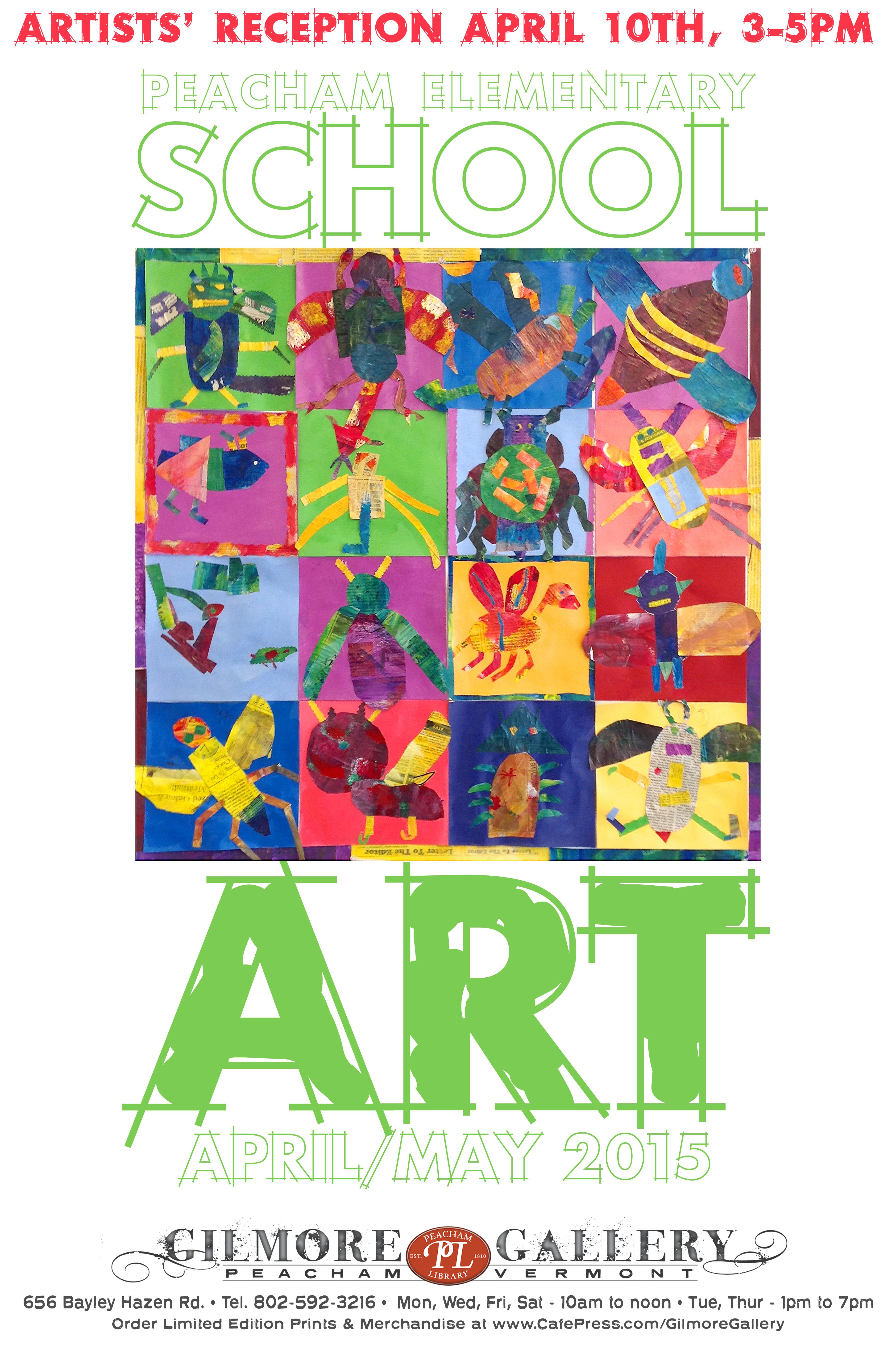 School Art Poster