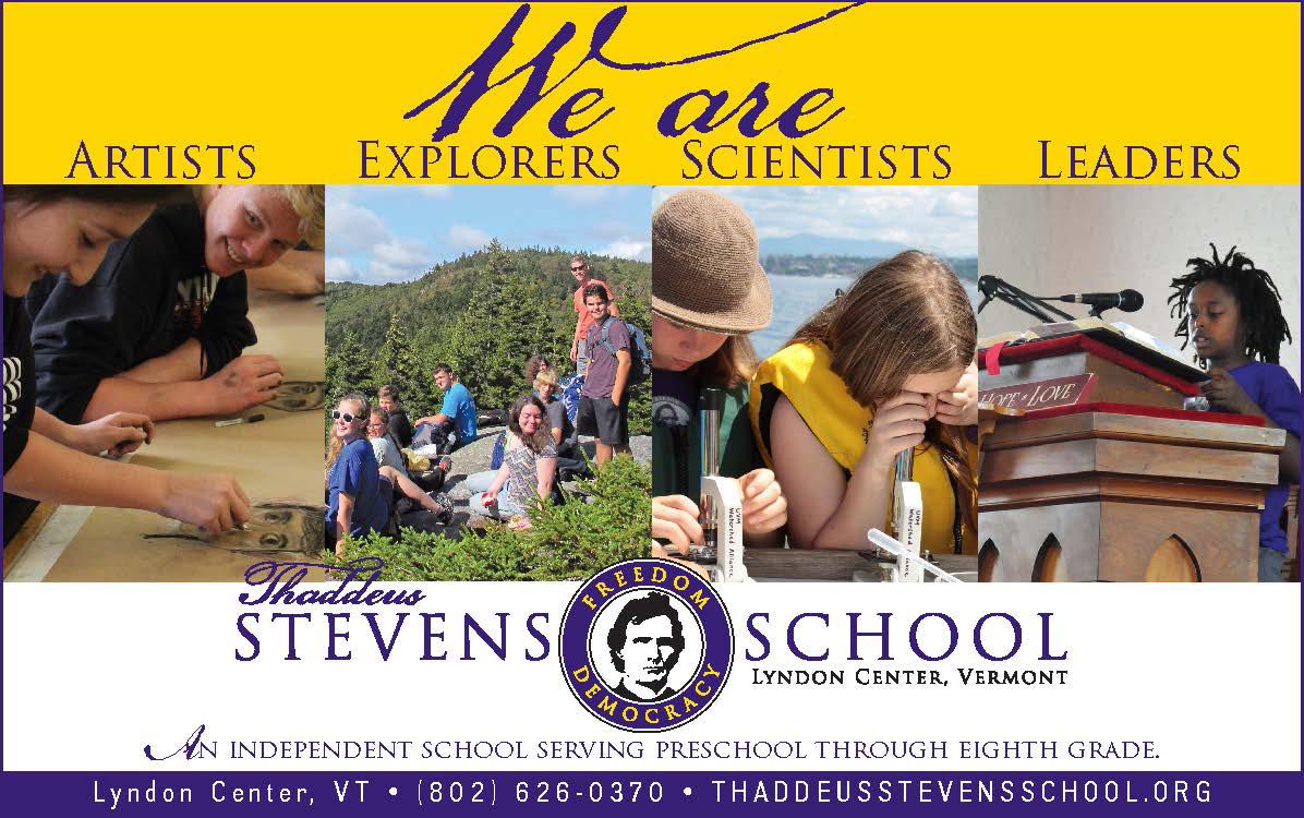 Thaddeus Stevens School Ad