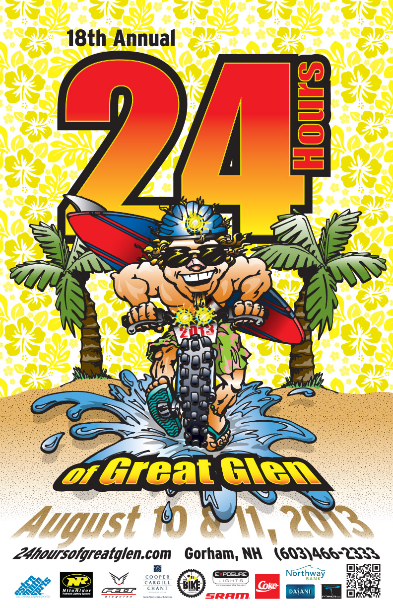 24 Hrs of Great Glen poster 2013