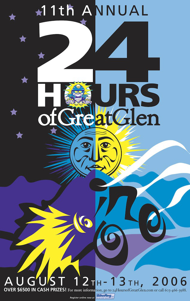 24hrs of Great Glen poster 2006