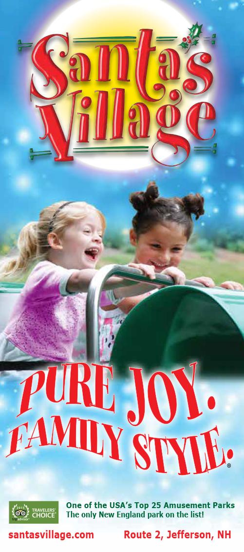 Santas Village Brochure Cover