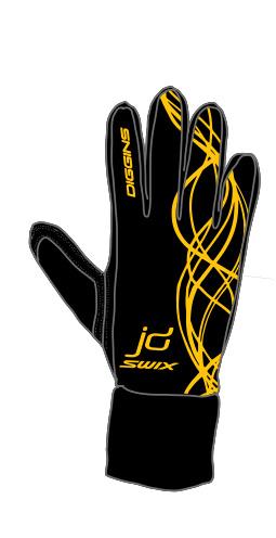 Jessie Diggins Glove Design