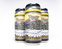 Tuckerman Brewing First Tracks Cans
