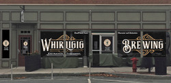 Whirligig Brewing Co. Windows