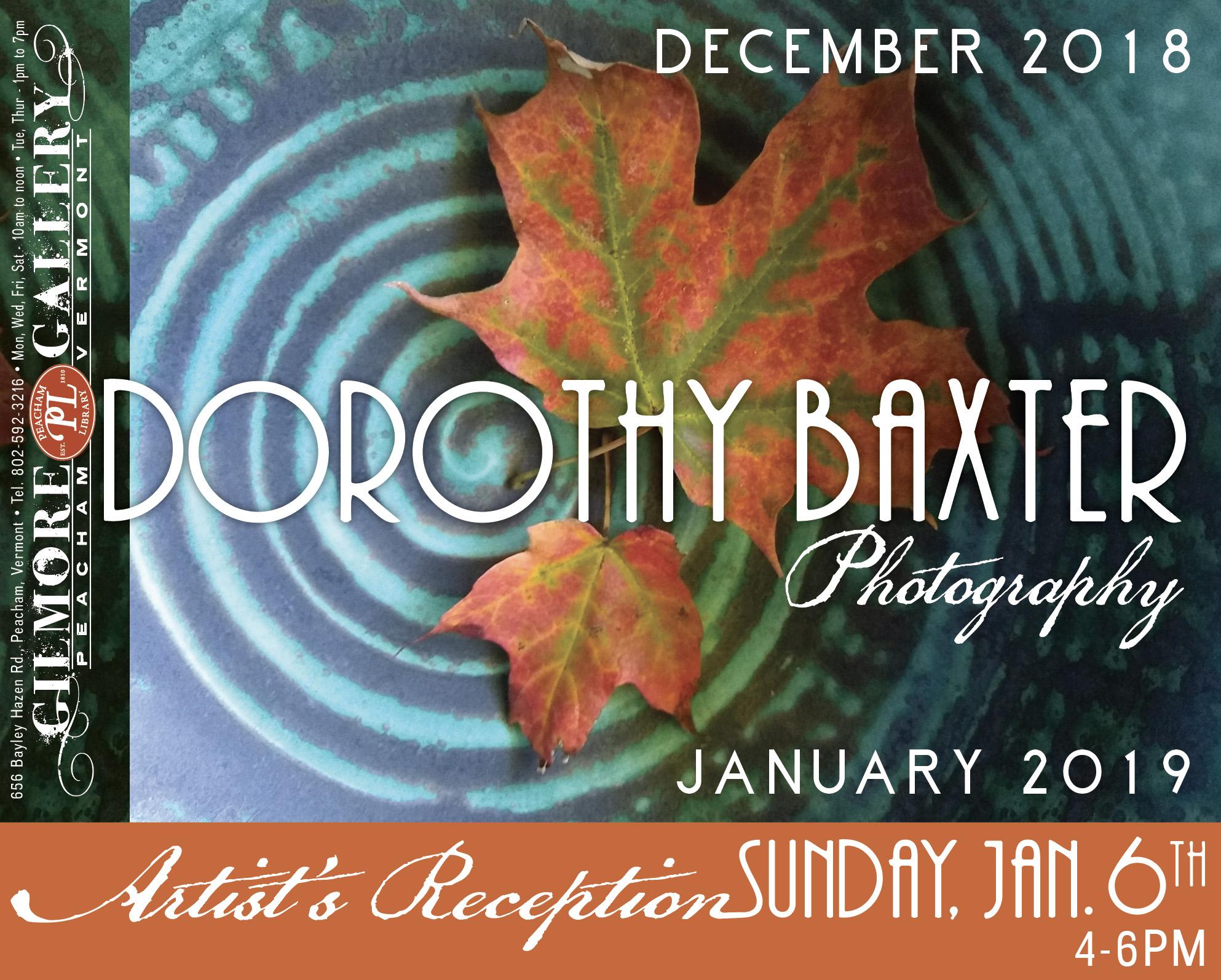 DorothyBaxterPosterwSnipe122718