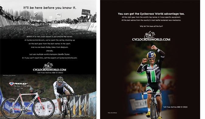 CyclocrossWorld ads