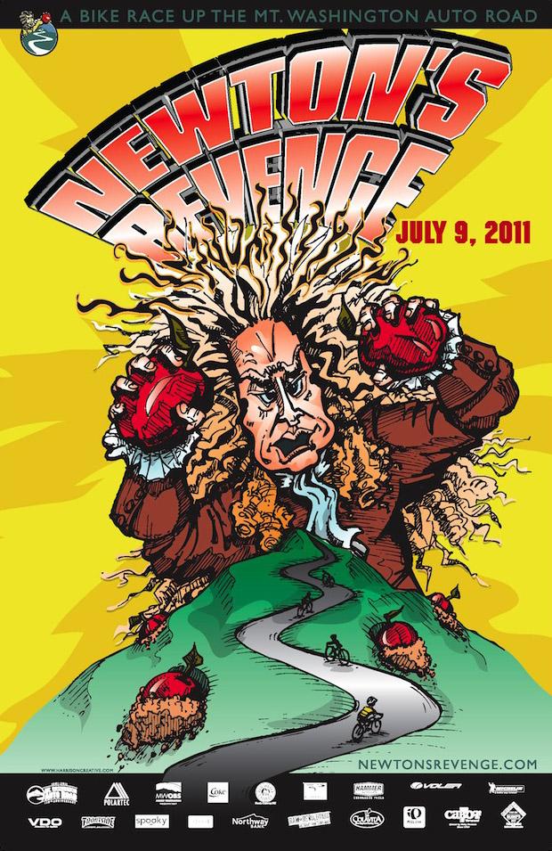 Newtons Revenge poster 2011