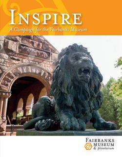 Fairbanks Museum Capital Campaign Brochure