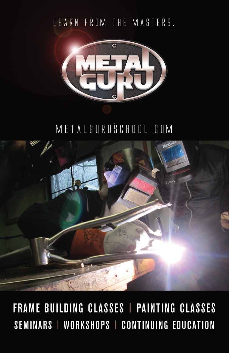 Metal Guru brochure cover