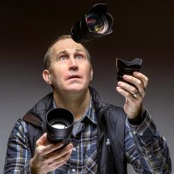 Craig Juggling Lenses
