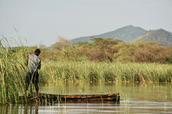 Lake Chamo Fisherman
