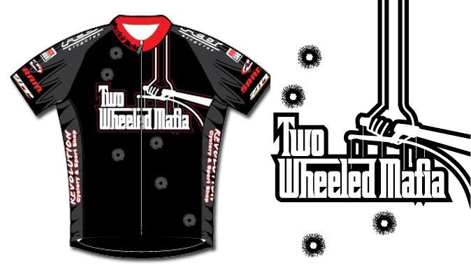 2 Wheel Mafia logo and jersey
