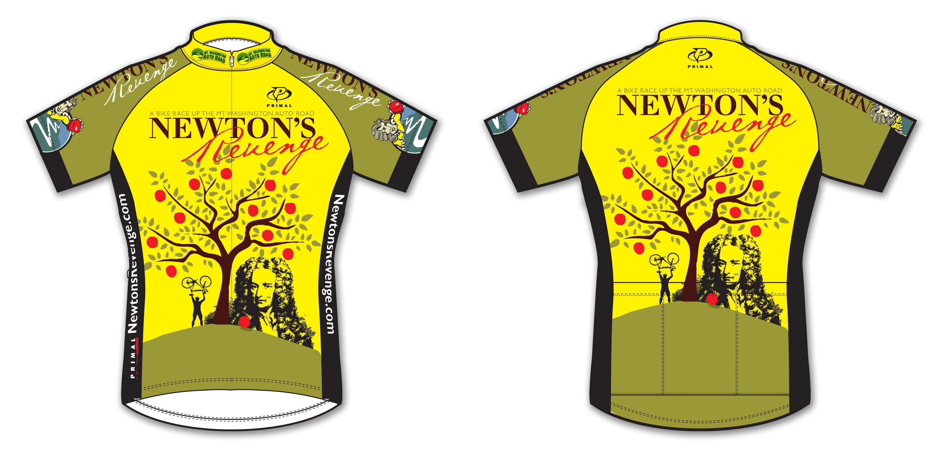 Newtons Revenge jersey 2013