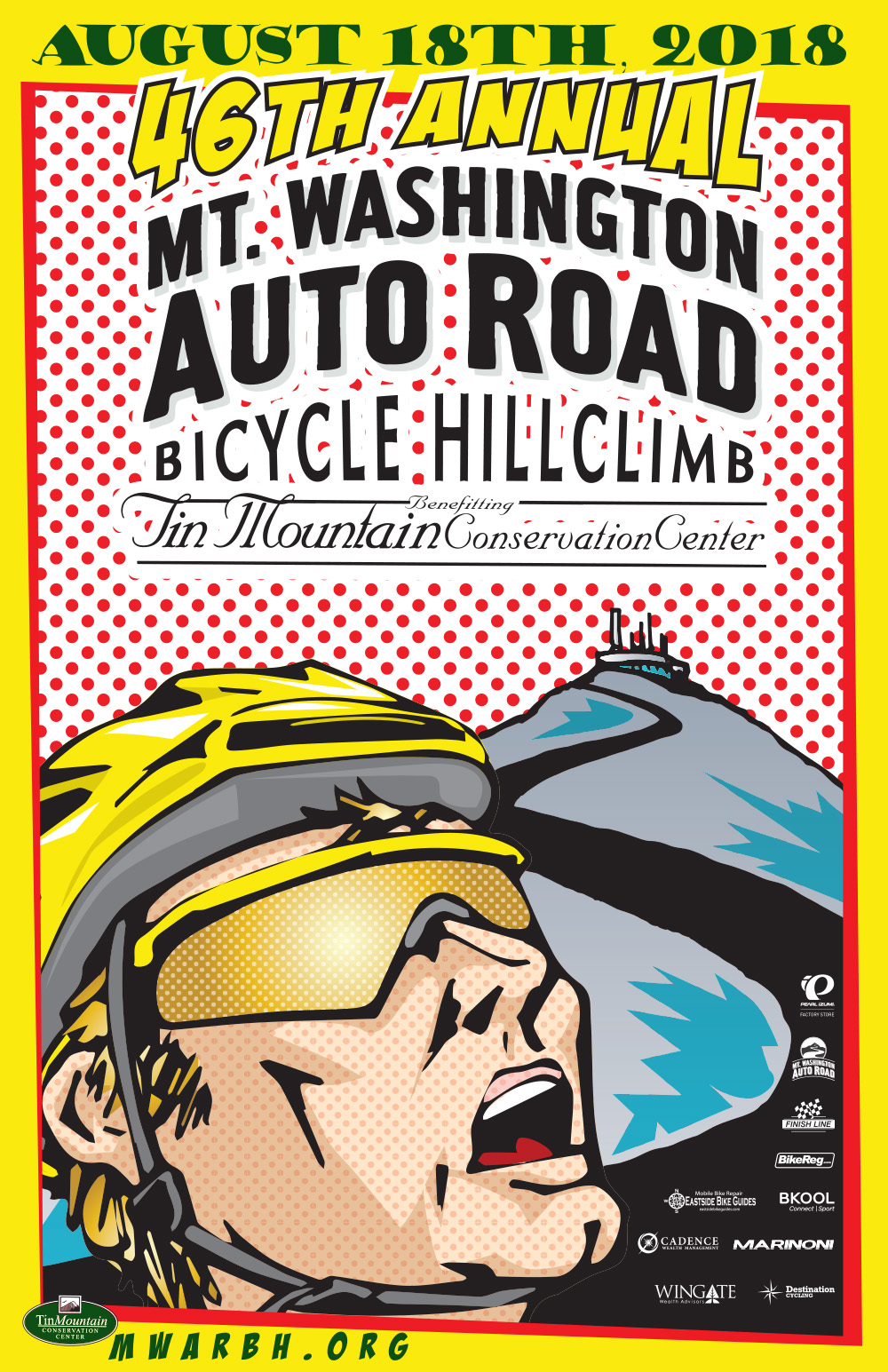Mt Washington Hillclimb Poster 2018