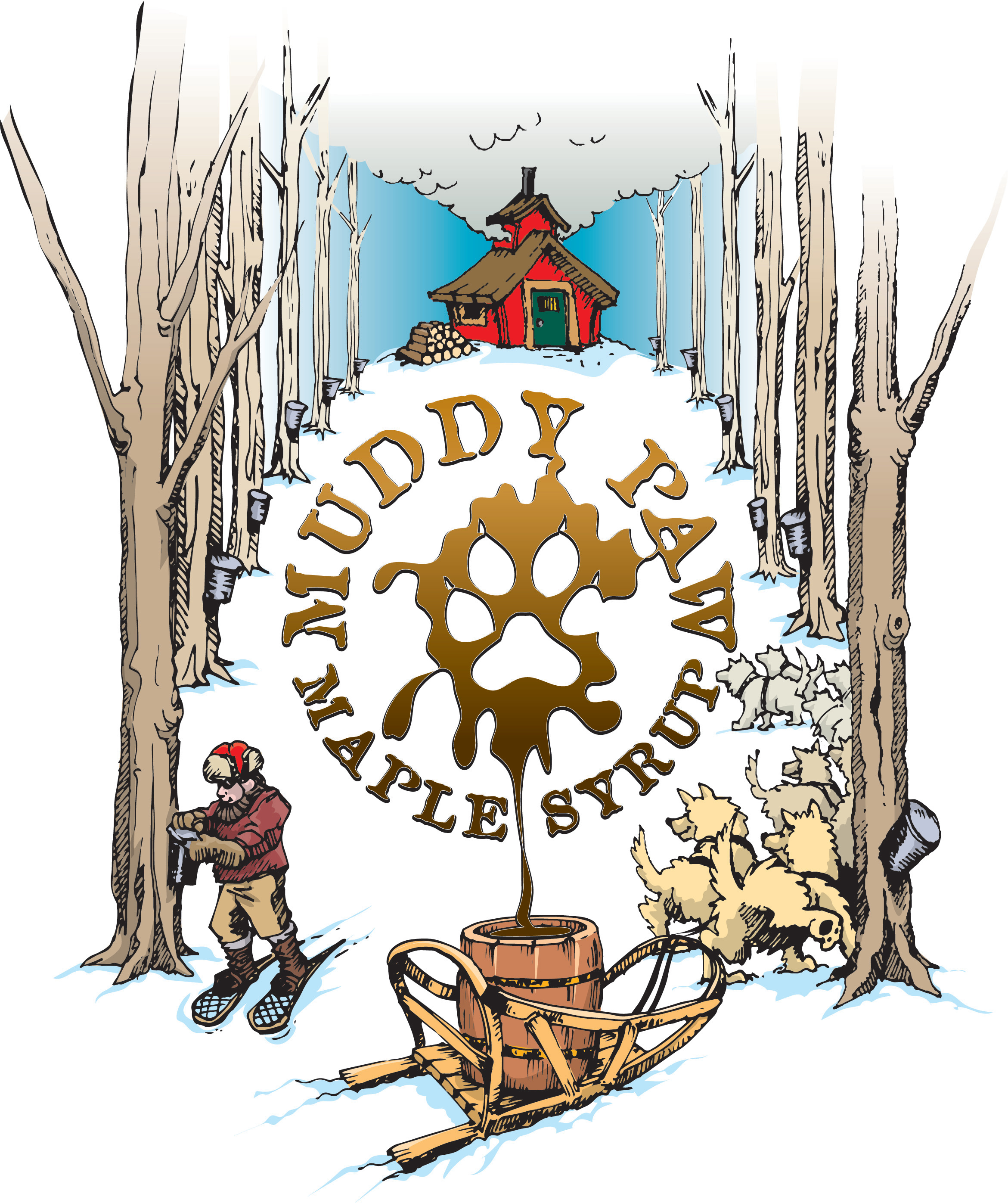 Muddy Paw Maple Label