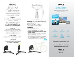 Bkool Smart Air Trainer Brochure side 1