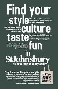 Find Yourself In St. J Ad