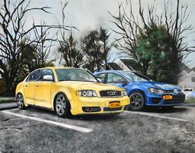 Commission Work (Audi x VW)