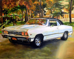 Commission Work (Chevy chevelle)