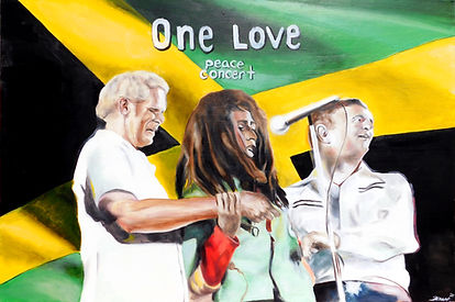 Bob Marley's One Love Peace Concert
