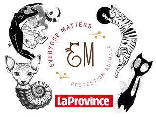 EM dans la presse : Le salon montois Noir Charbon met des tatouages aux enchères (La Province)