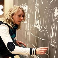 Céline Kerpelt, Graphiste chez Curlie - studio graphique