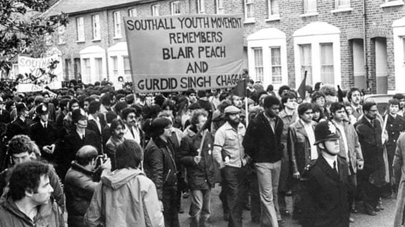 British youth organising in solidarity over the deaths of Gurdip Singh Chaggar and Blair Peach.