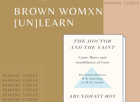 Brown Womxn Unlearn Reading Circle - Session 1 on Religion & Caste