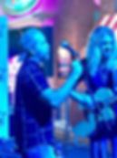 Criss singing with Bucky Covington iPlay