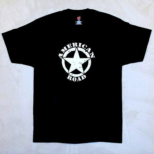 American Road Black T-Shirt