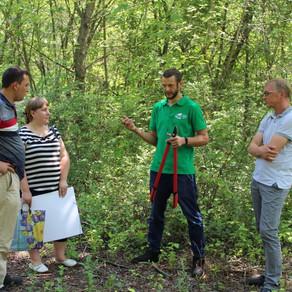 Самарские Лесные Сады посетили эксперты Самары