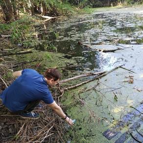 Ученики и педагоги Лицея «Спутник» провели забор воды в Куйбышевском районе