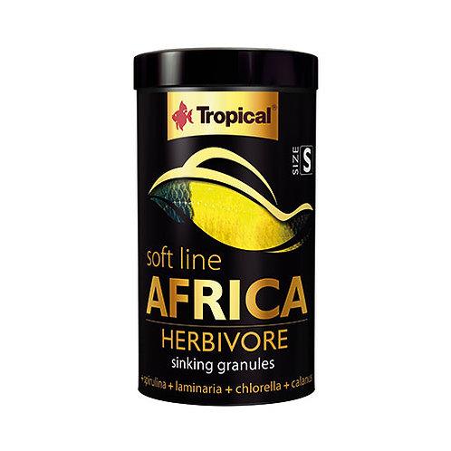 Tropical Softline Africa Herbivore Sinking Granules 250ml