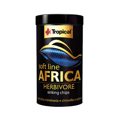 Tropical Softline Africa Herbivore Sinking Chips 250ml