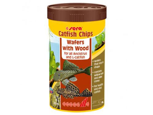 Sera Catfish Chips Nature 95g 250ml